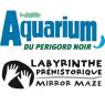 Aquarium Du Périgord Noir + Labyrinthe Préhistorique Mirror Maze, Le Bugue/Vezere