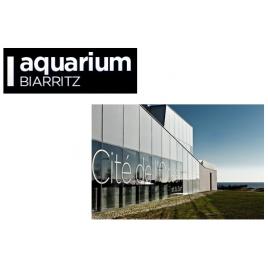 Aquarium de Biarritz + cité de l'océan ( billet jumelé)