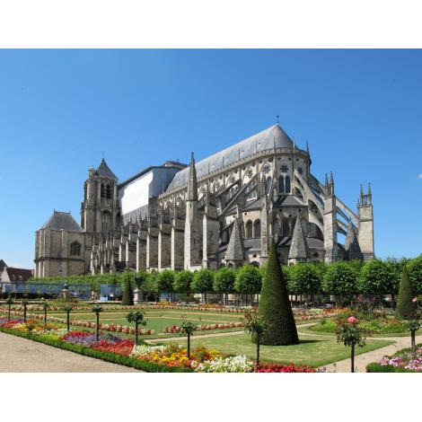 Crypte et tour de la cathédrale, Bourges