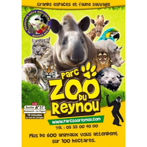 Parc Zoo du Reynou, Le Vigen