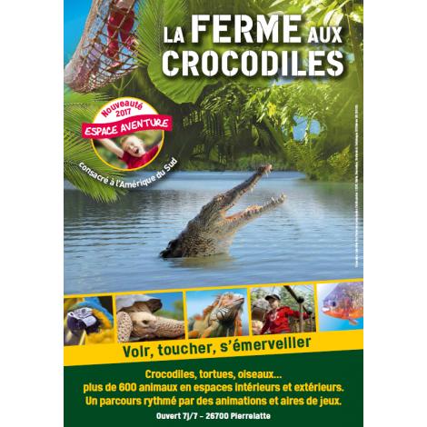 La Ferme Aux Crocodiles, Pierrelatte